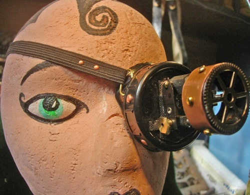 Mechanical Steampunk Monocle