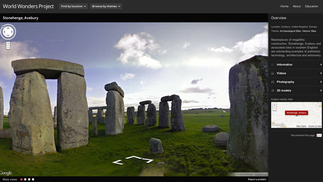 World Wonders Project by Google