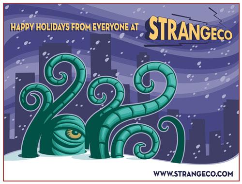 STRANGEco Holiday Card