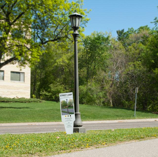 Urban Plant Tags, Plant Nursery Style Tags for Sidewalk Fixtures