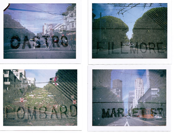 Instant Streets by Polaroid SF