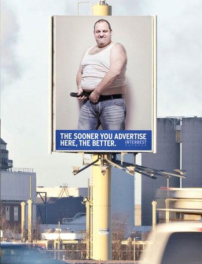 Interbest Male Stripper Ad