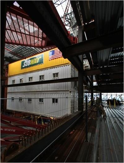 Subway at WTC