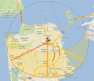 SunCalc sun tracking app