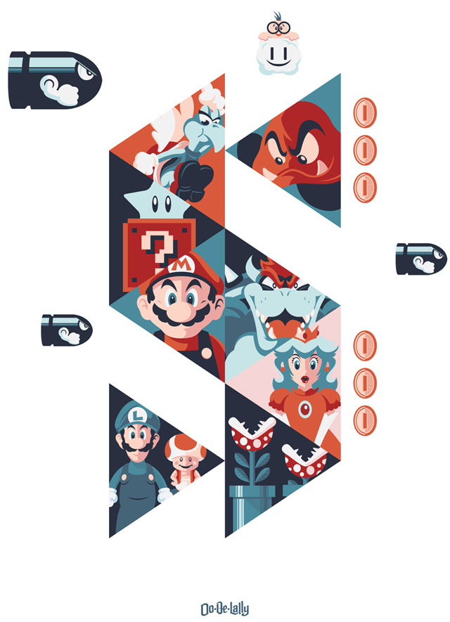 Super Vector Bros by Jayson Weidel