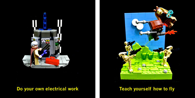 electrical work and teach