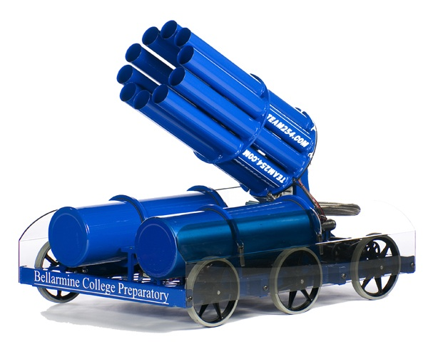 10 Barrel Gatling T-Shirt Cannon