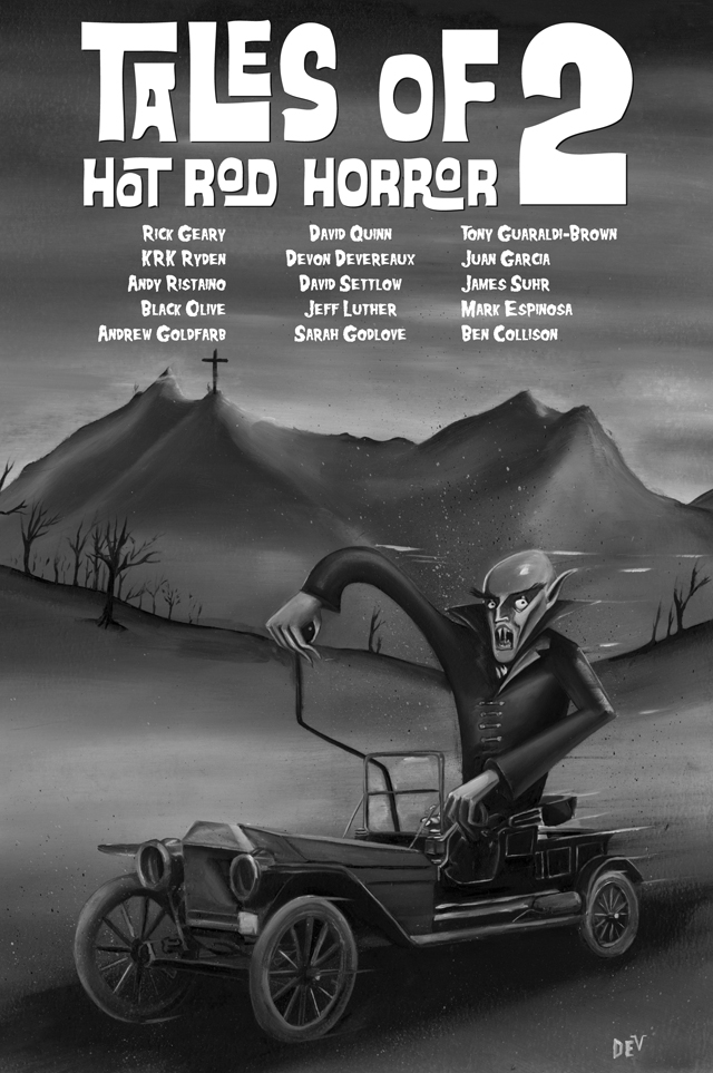 Tales of Hot Rod Horror Volume 2 by Devon Devereaux
