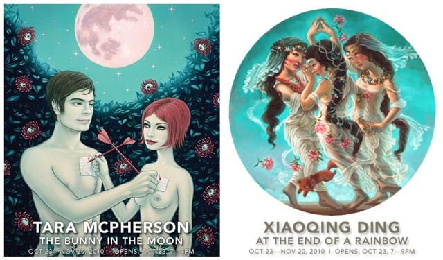 Tara McPherson & Xiaoqing Ding at Jonathan LeVine Gallery