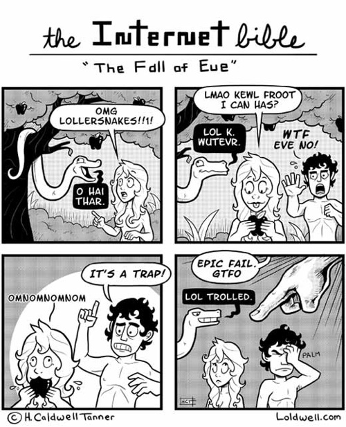 The Internet Bible: The Fall of Eve