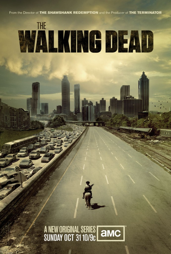 THE WALKING DEAD , a new television series based on the popular comic ...