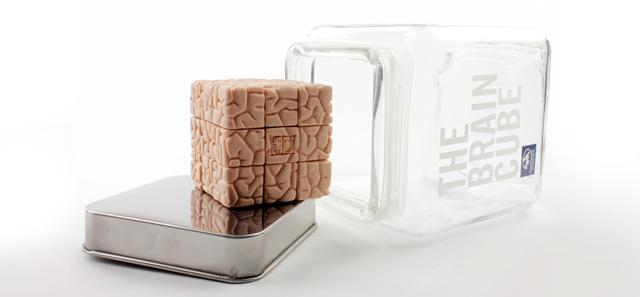The Brain Cube by Jason Freeny