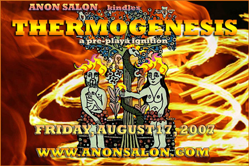 Anon Salon Presents Thermogenesis