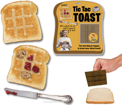 Tic Tac Toast, Helping You Play With Your Food