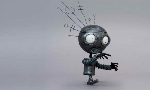 Tim Burton Robot