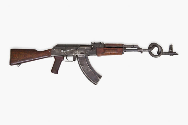 AKA Peace, AK-47s converted to sculptures for charity