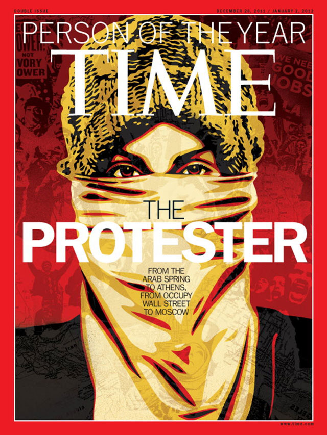TIME Person of the Year 2011: The Protester