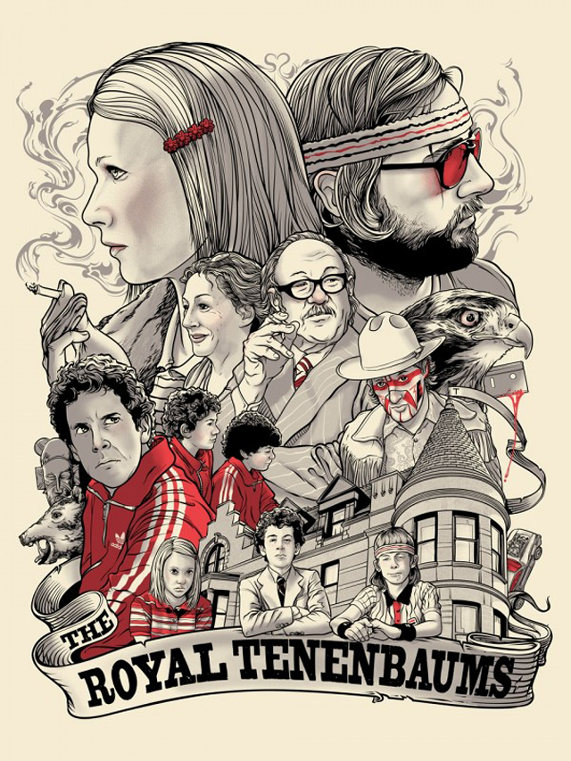 The Royal Tenenbaums by Joshua Budich