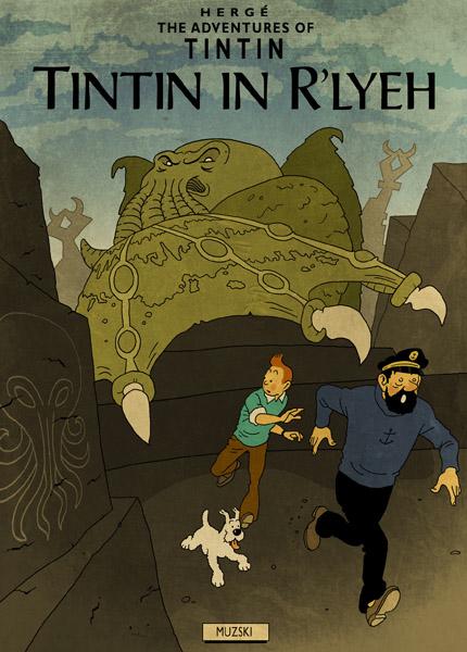 Tintin Lovecraft