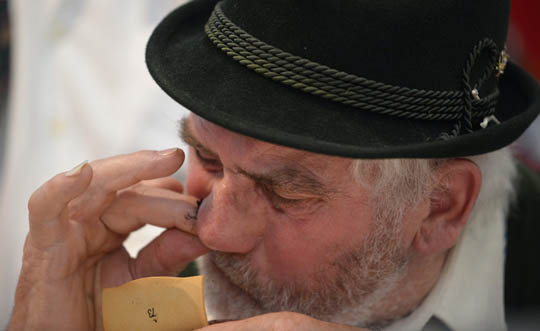 The World Tobacco Sniffing Championship