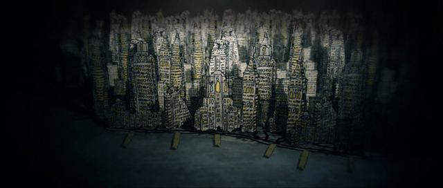 Travesty City, A Hand-Drawn Animated Film by Ryan Fedyk
