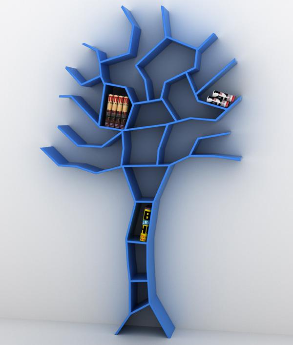 pin incredible tree bookcase furniture branch storage inspired designs bookshelf