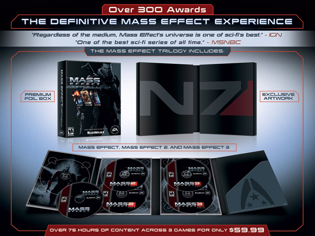 Mass Effect Trilogy Bundle - BioWare