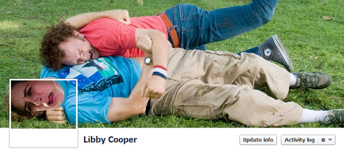 Step Brothers Facebook Cover by Libby Cooper