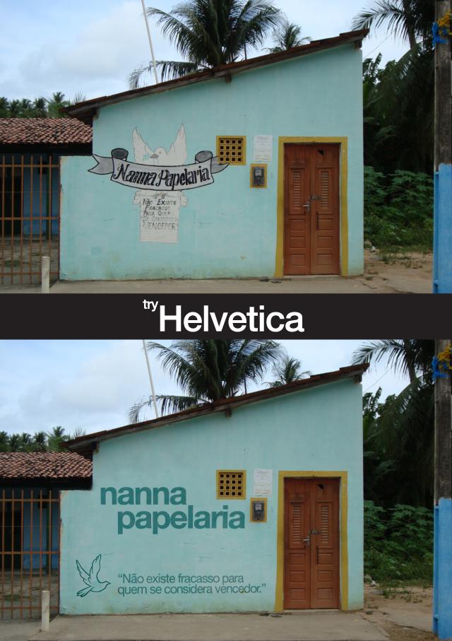 Try Helvetica