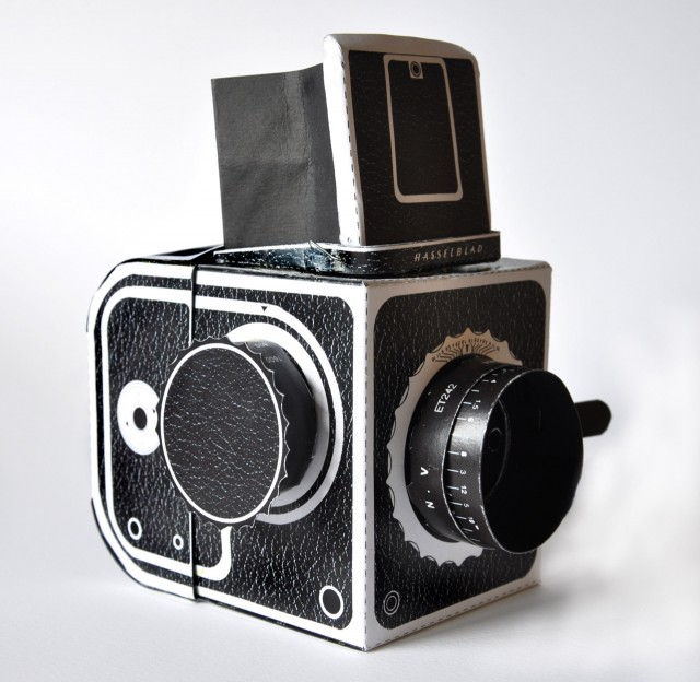 Pinhole Hasselblad Replica by Kelly Angood