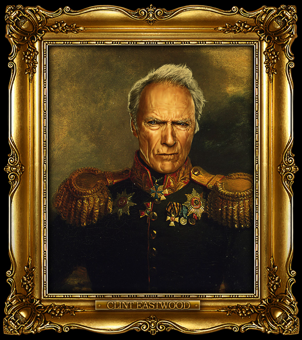 Celebrities Photoshopped Into Portraits Of S Russian Generals - If celebrities were 19th century military generals they would look like this