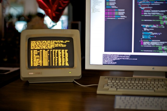 Mac Pro Running a VT220 Serial Terminal