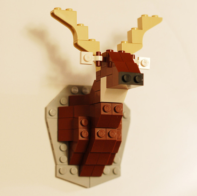Taxidermy deer lego kit solutioingenieria Choice Image