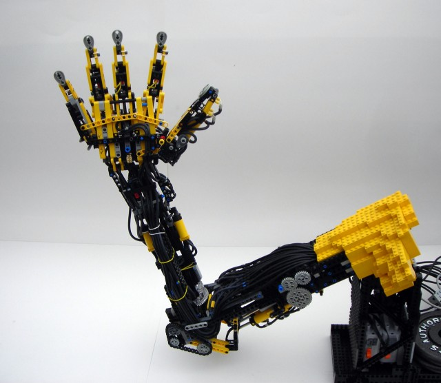 Lego Prosthetic Arm by Max Shepherd