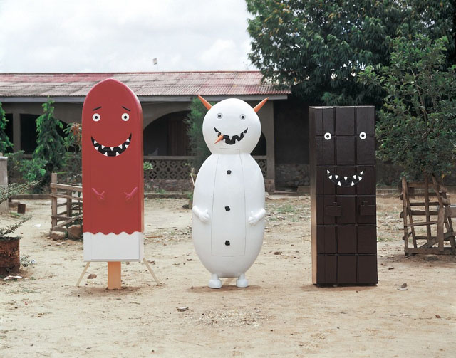 Cartoonish Coffins by Olaf Breuning