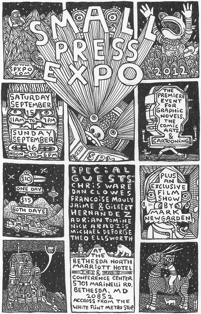 SPX 2012 Poster by Theo Ellsworth