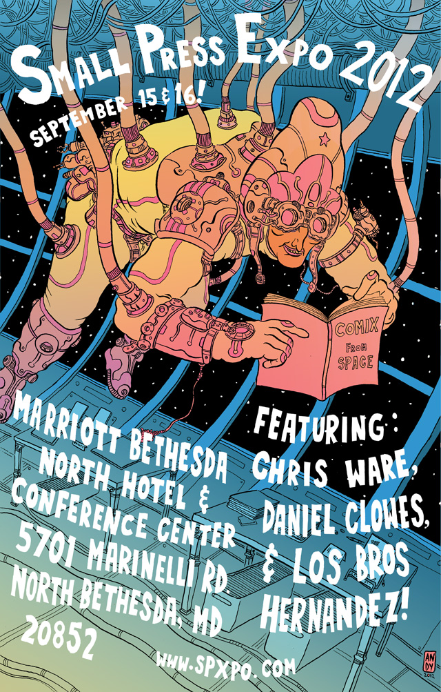 SPX 2012 Poster by Andy Kettler