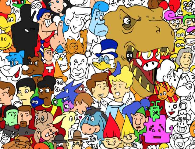 Characternity - The Entire Cartoon Universe by Ray Sumser