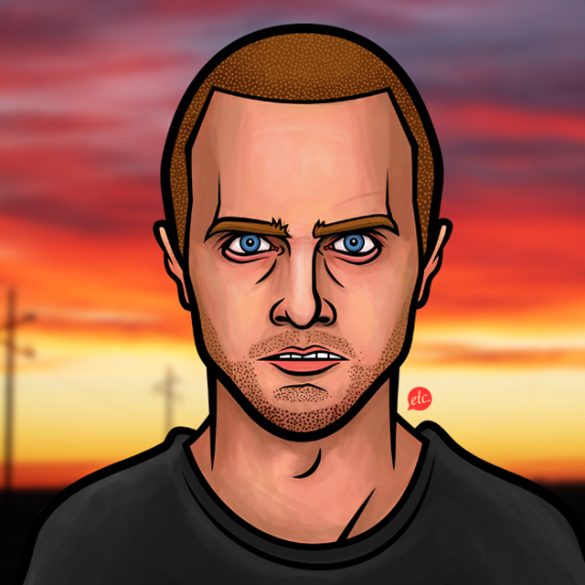Jesse Pinkman by Jon Defreest