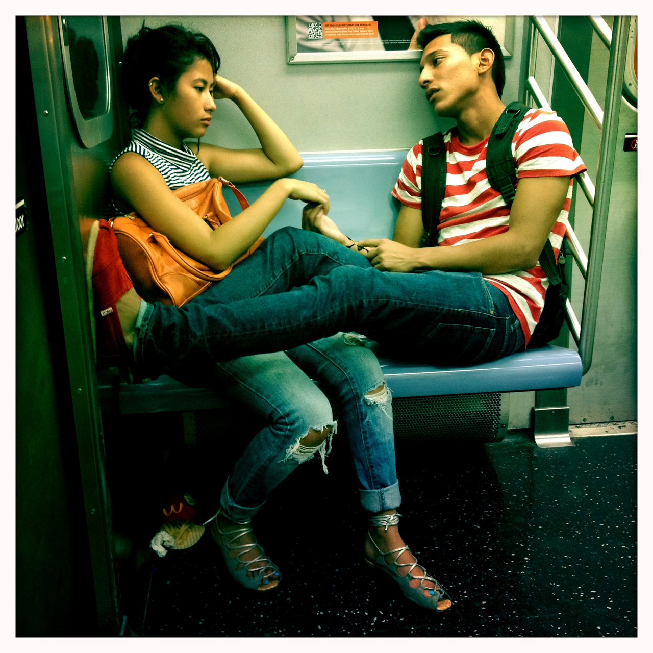 Commuters, Portraits of New York City Subway Riders