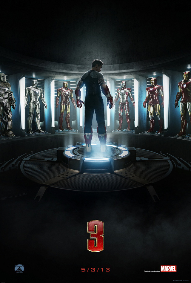 Marvel's Iron Man 3 Poster