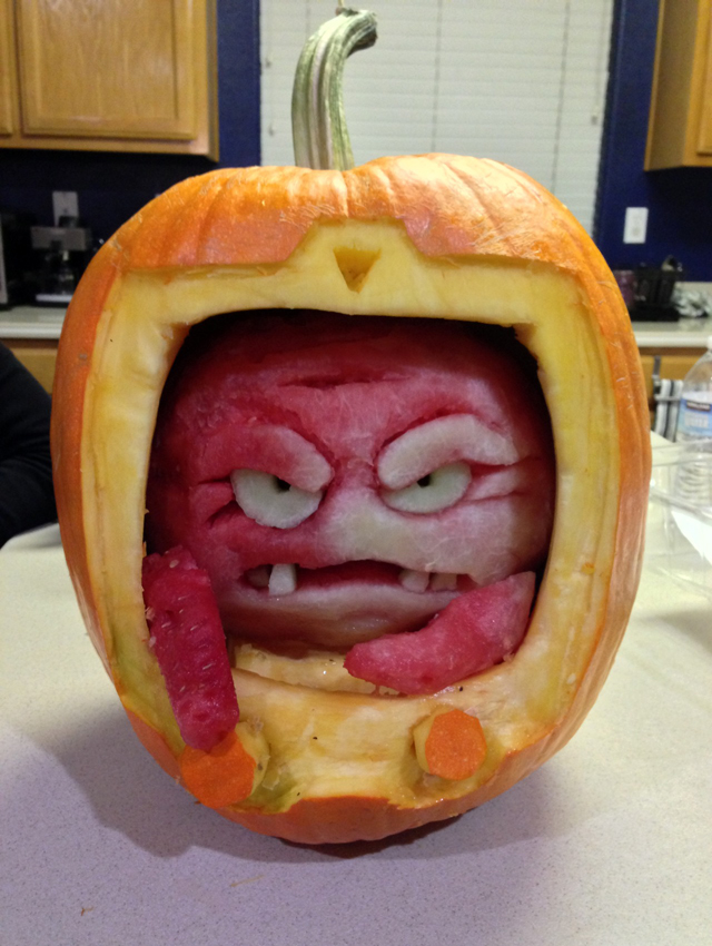 Krang O' Lantern by Michael Villamejor