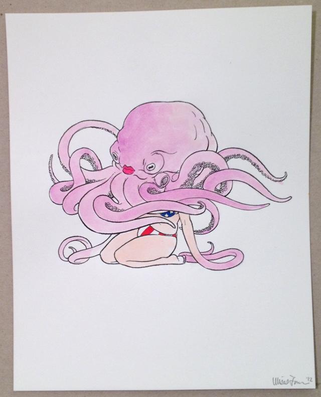 Full-Body Octopus by Ulises Farinas