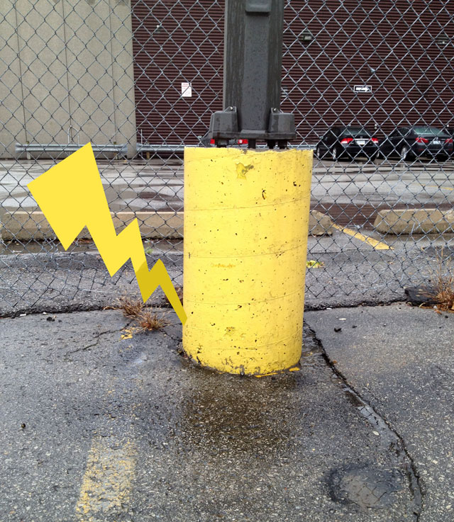 Pikachu Street Art