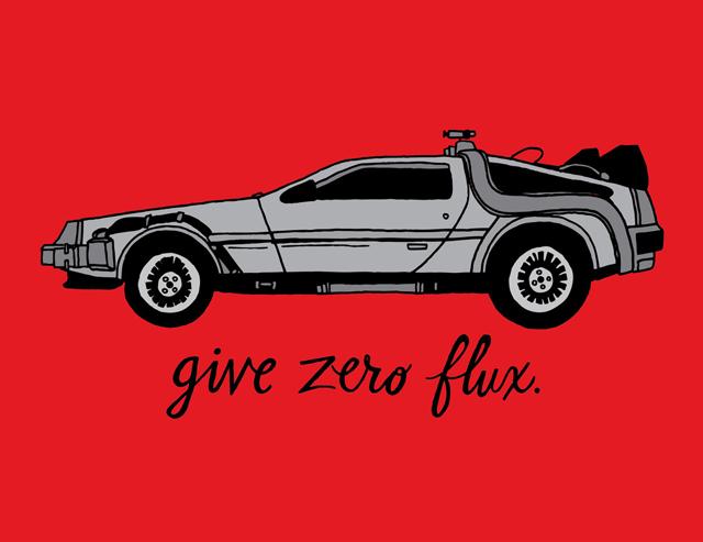 Zero Flux Given by Chris Piascik