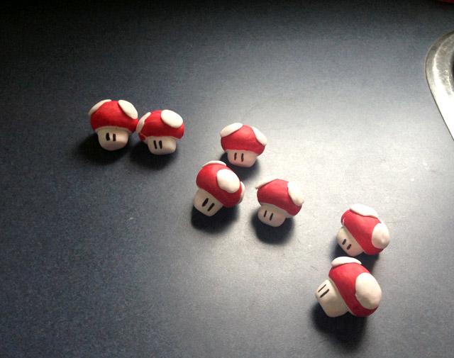 Mario Mushroom Market