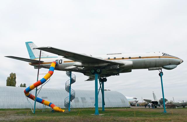 Tupolev 124 slide