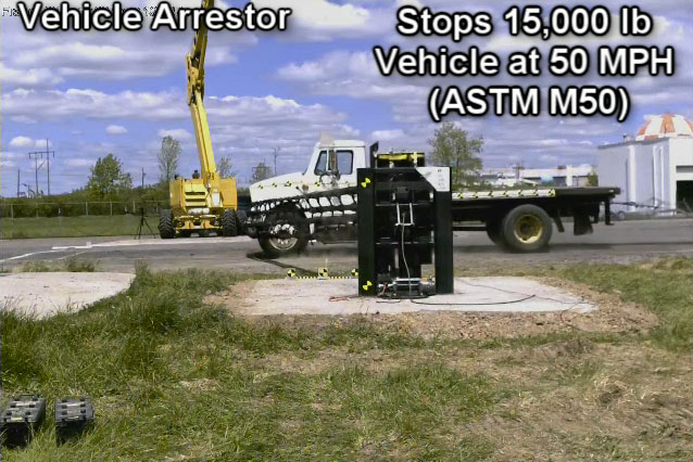 The Vehicle Arrestor by Barrier1 Systems
