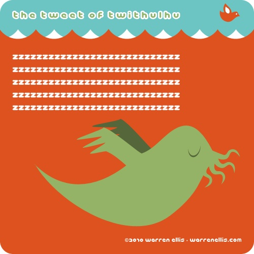 The Tweet of Twithulhu
