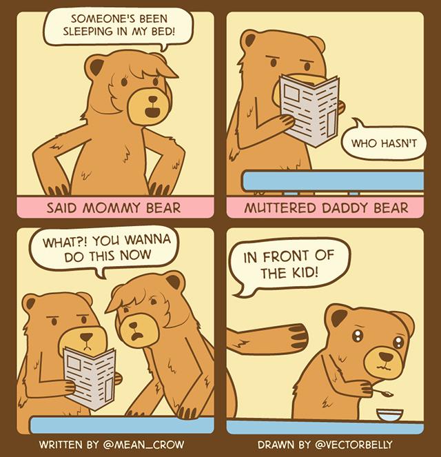 Twitter Comic Bears